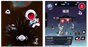 お手軽アクションゲーム「タップ!キャプテンスター」ハマる要素あり!